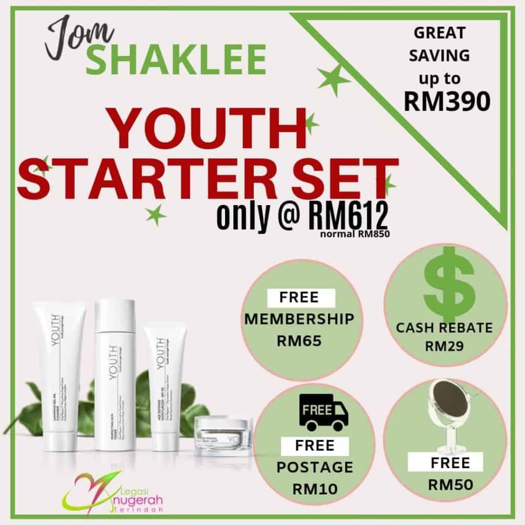 Promosi Keahlian Percuma Shaklee Dengan Youth Starter