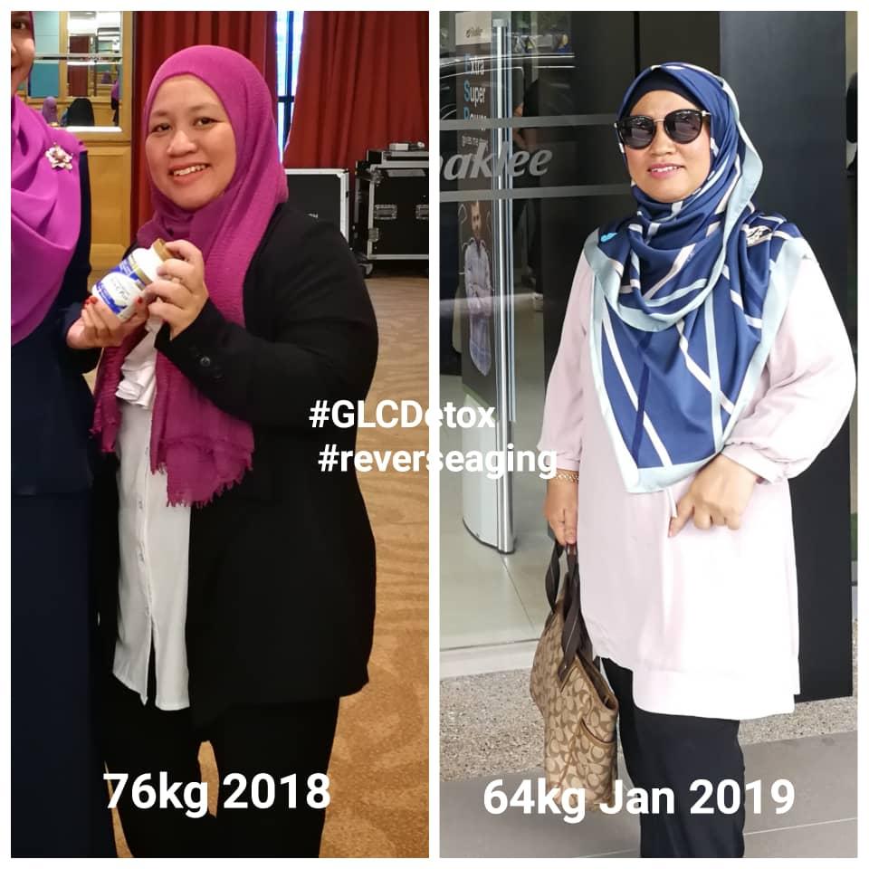 Terbaru. DetoxIF sejak Disember 2018 hingga kini berjaya buang 12kg dalam tempoh 2 bulan