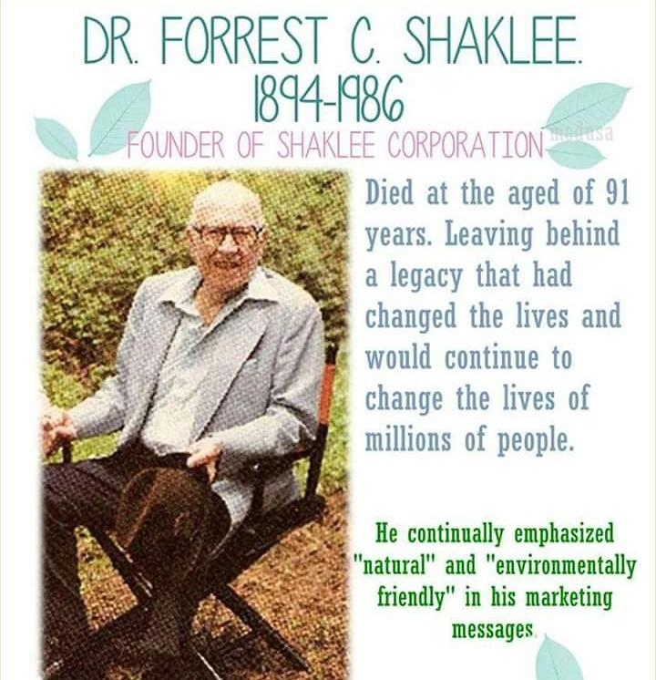Meninggal di usia 91 tahun, Dr Shaklee meninggalkan lekasi kukuh hingga kini