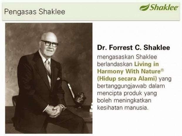Sejarah Shaklee bermula dari Dr Shaklee