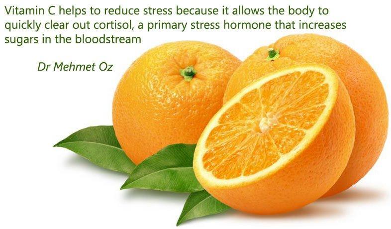 Pengambilan cukup vitamin C bantu stabilkan hormon kortisol