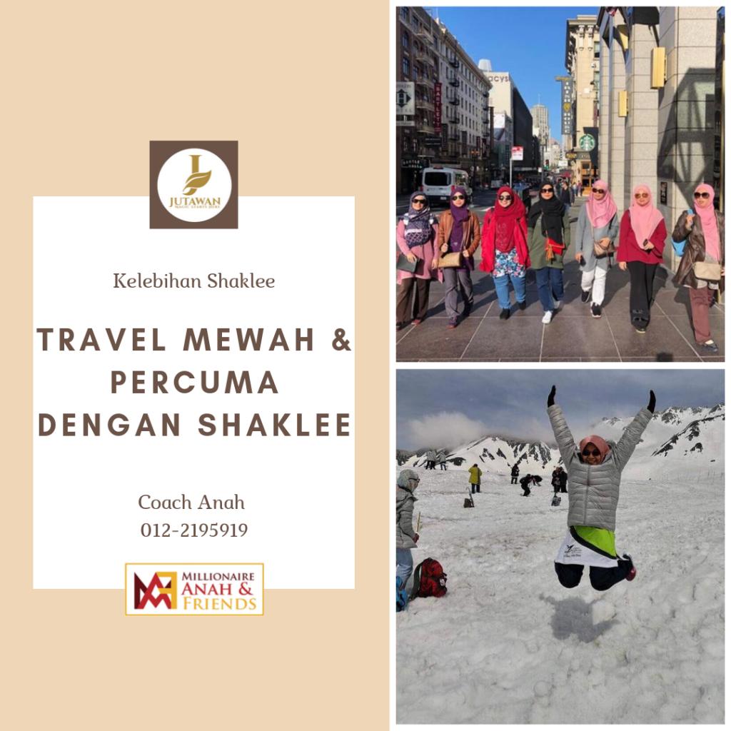 Travel Mewah Dan Percuma Dengan Shaklee