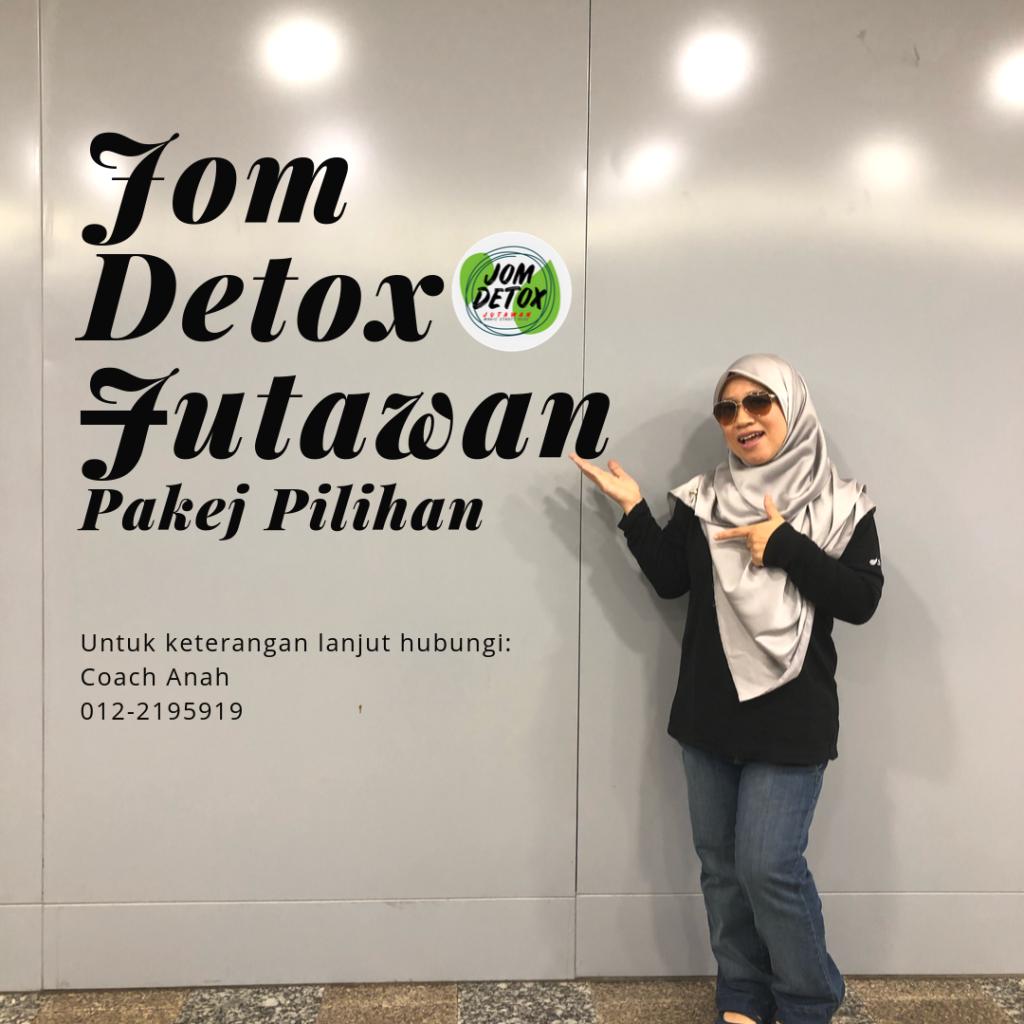 Pakej Menarik Dalam Jom Detox Jutawan