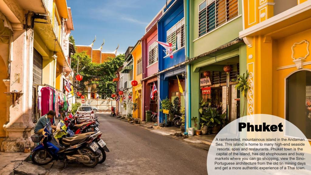 Phuket umpama bandar lama Pulau Penang