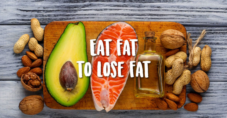 makan lemak untuk buang lemak