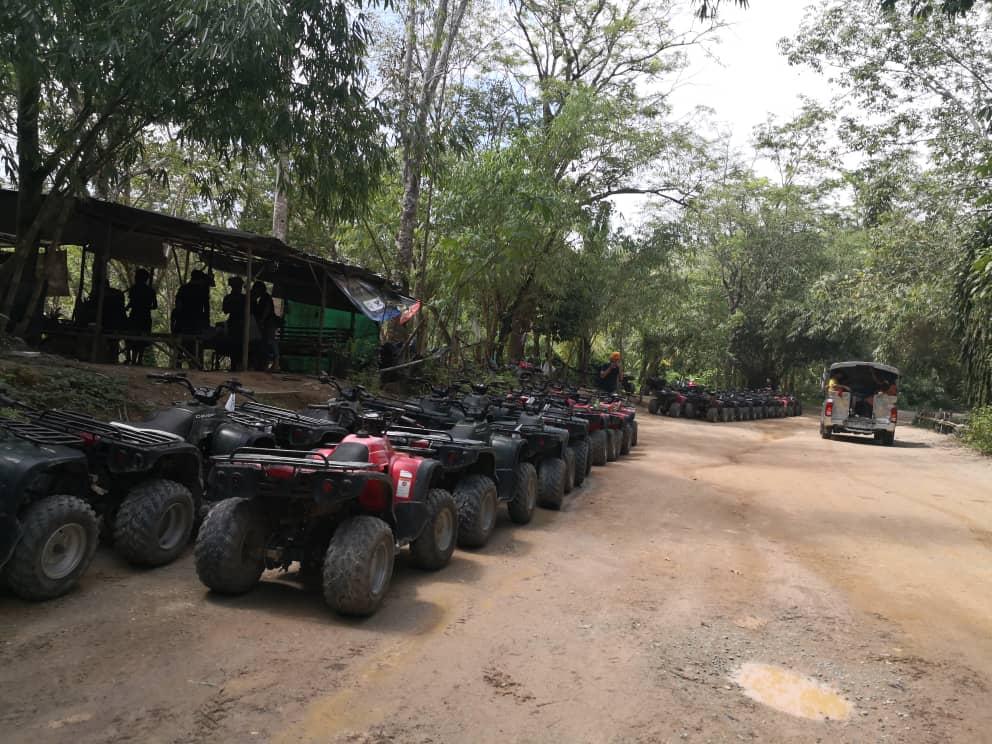 ATV ride bersusun
