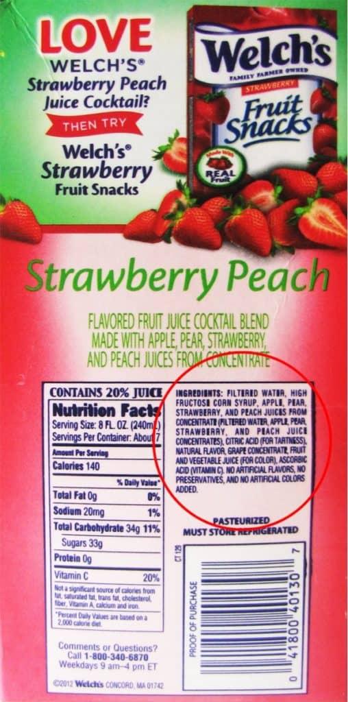 jus buah kaya dengan fruktosa