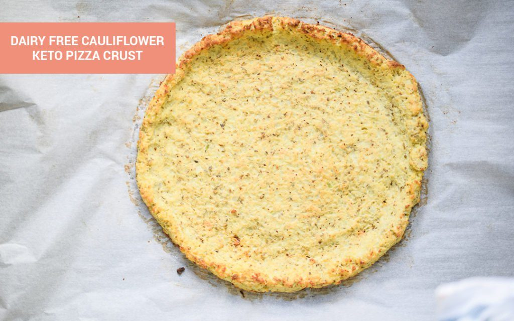 Keto Pizza Crust menggunakan tepung kelapa