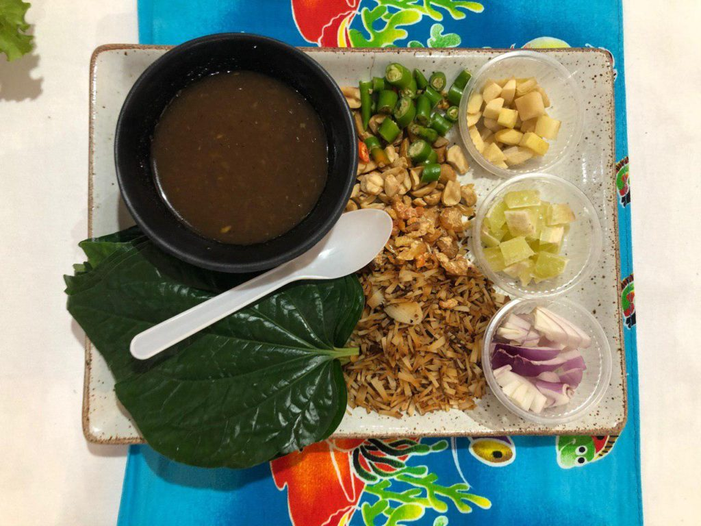 Miangkham sejenis hidangan wajib specialty Thailand