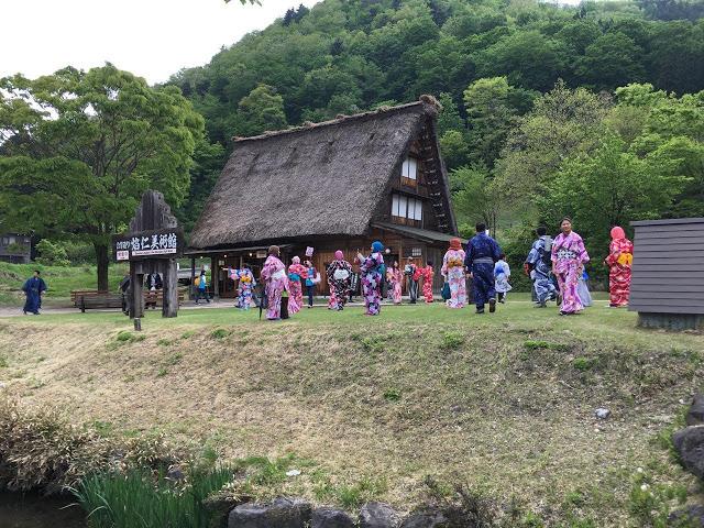 Perkampungan Shirakawa-Go sebuah perkampungan dilabel sebagai heritage UNESCO