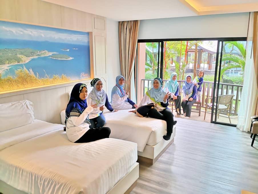 Coaching dalam bilik di Duangjitt Resort & Spa