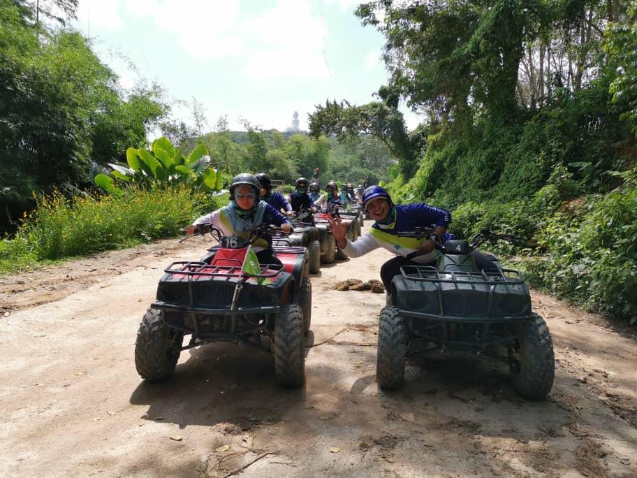 #TeamJUtawan sedang menunggu giliran nak ber ATV