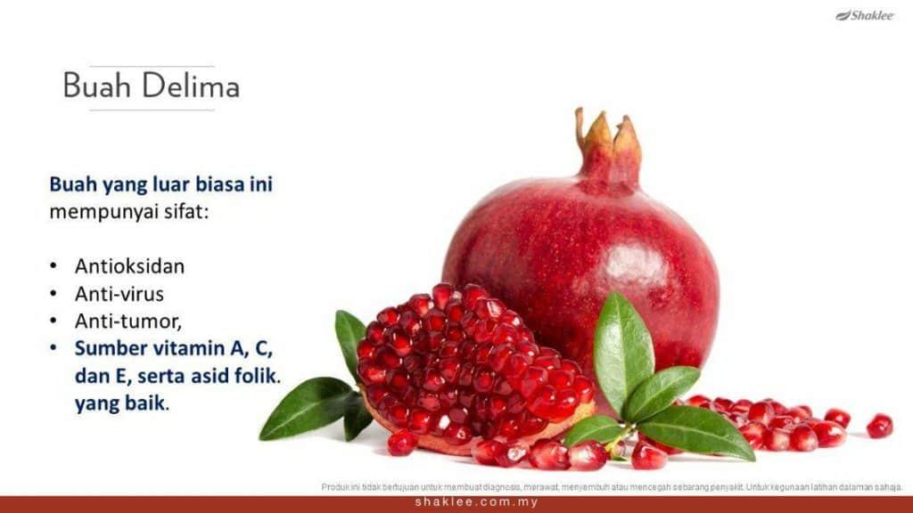 Manfaat delima merah kepada kesihatan
