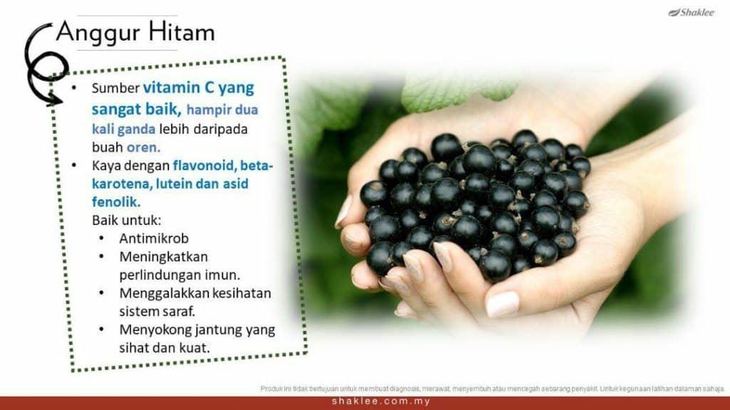 Manfaat anggur hitam  kepada kesihatan