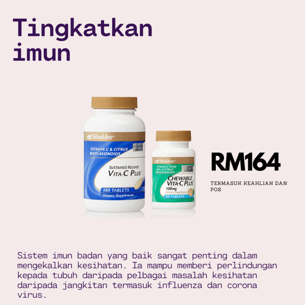 Set Imun Booster Shaklee