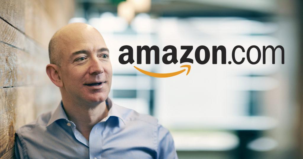 Jeff Bezos tetap kukuh bersama Amazon walaupun ketika bisnes dotcom sedang jatuh. Hasilnya Amazon bernilai puluhan bilion USD sekarang