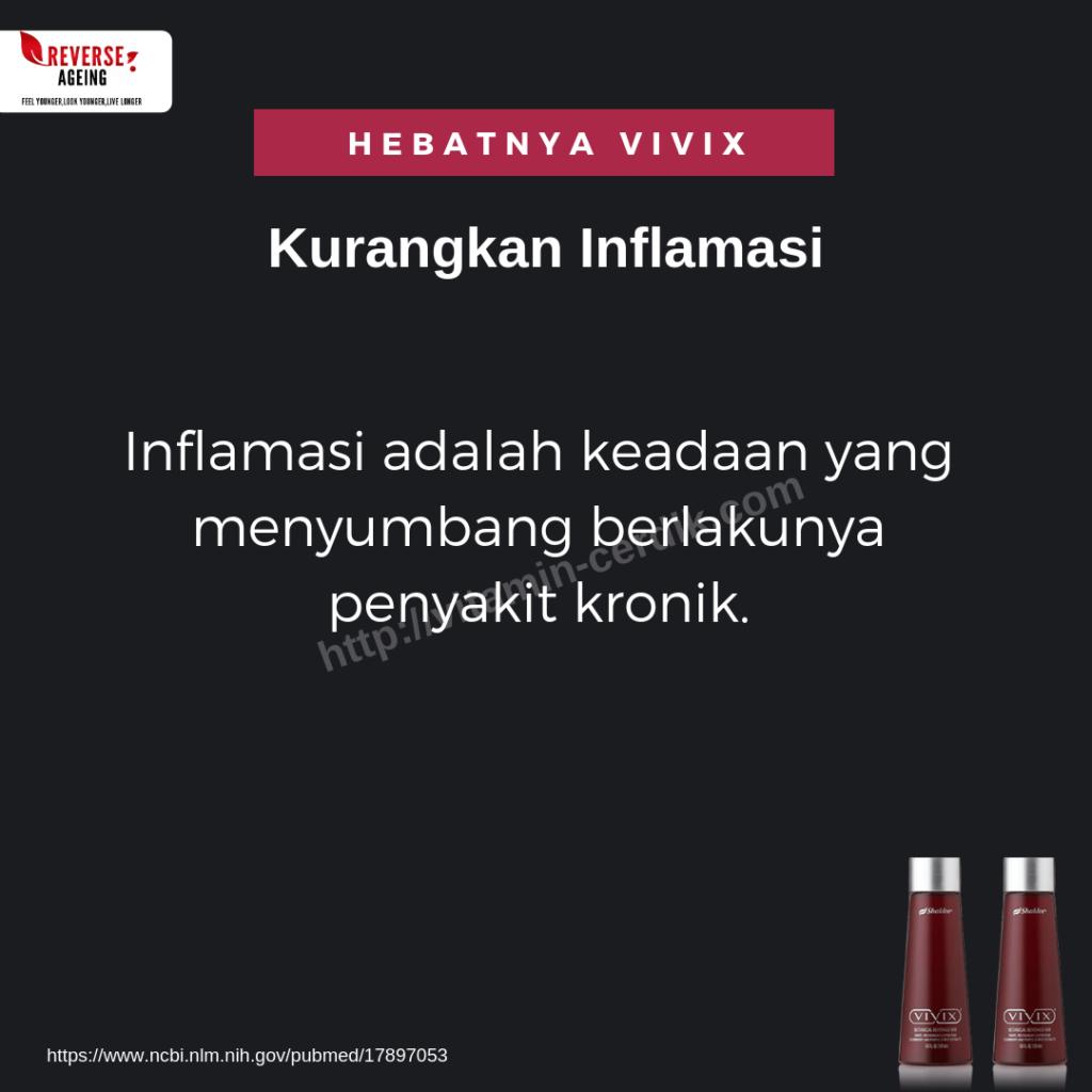 Vivix dengan polifenol sangat power untuk kurangkan masalah keradangan. Bagi jangkitan Covid19 ia menyebabkan keradangan peparu. Sudah tentu bermanfaat menggunakan Vivix