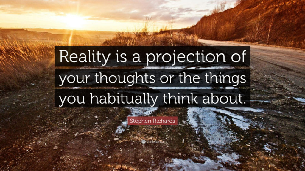 law of projection