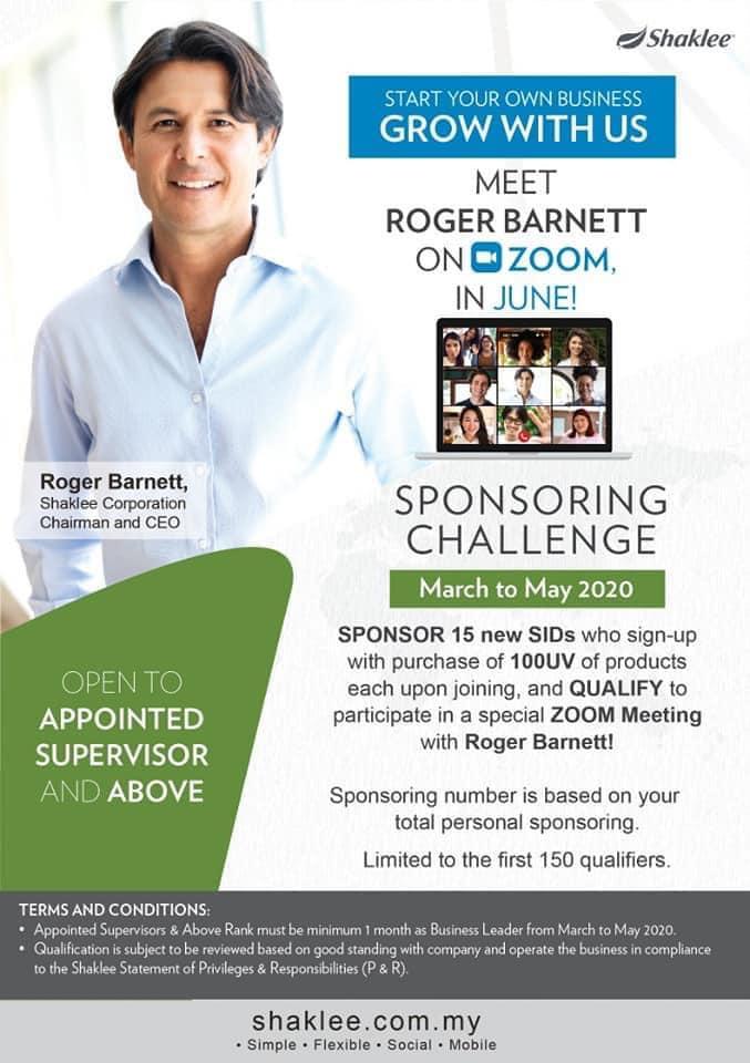 Program Khas Bersama Roger Barnett