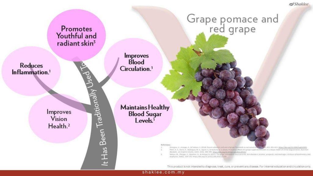 Kelebihan kesihatan anggur pomace dan anggur merah kepada kesihatan