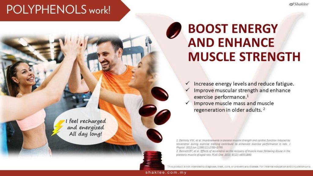 ResV bantu tingkatkan kekuatan tenaga dan otot