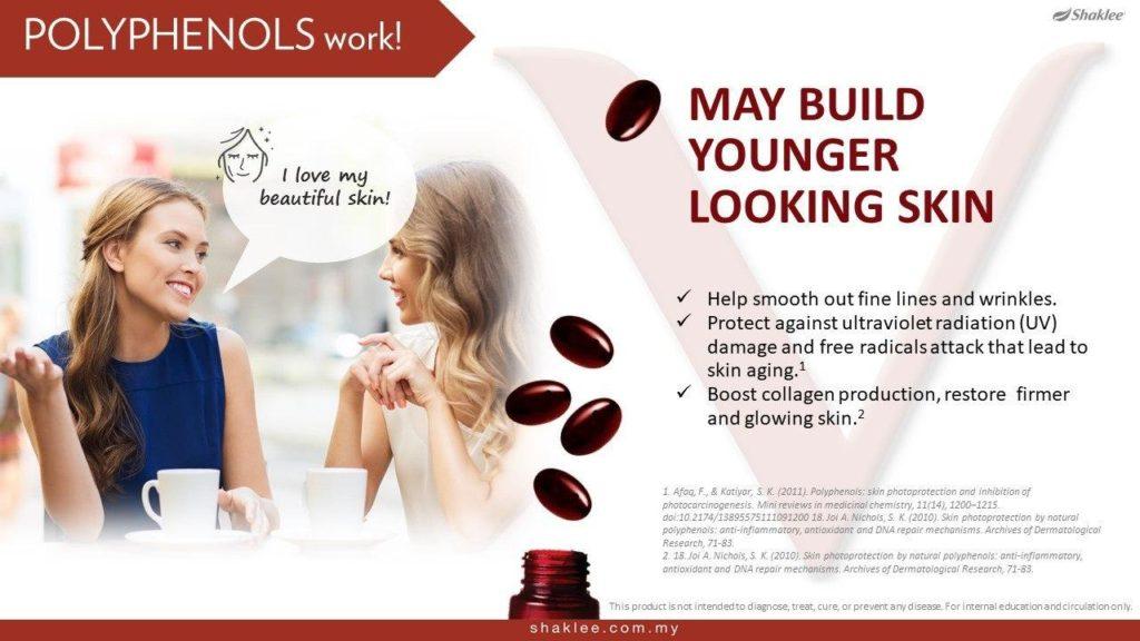 ResV membantu kulit yang sihat dan lebih muda