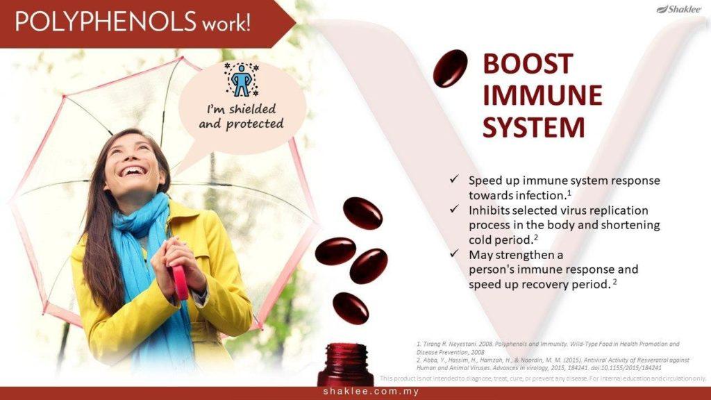 Meningkatkan kekuatan sistem imun